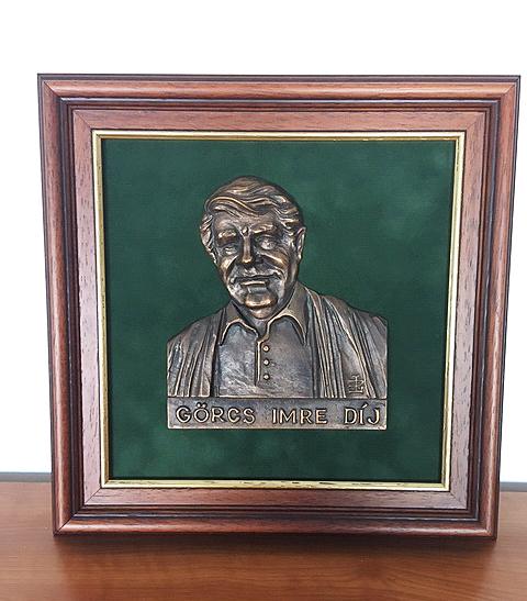 Görcs Imre-díj bronz emlékplakett, Lipovics János alkotása